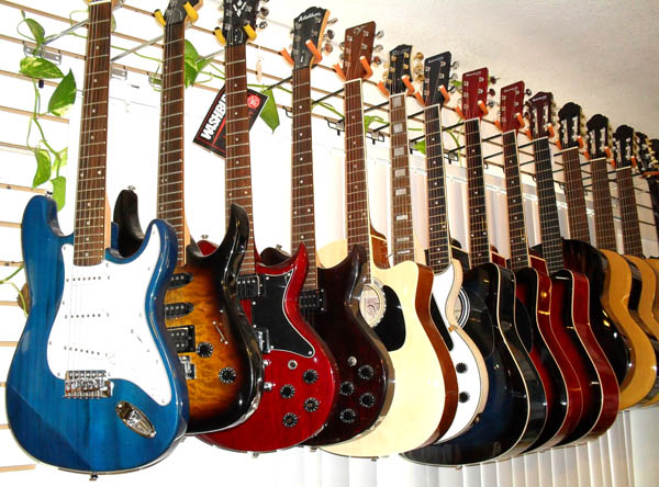 Guitar Store in Arcadia, Pasadena   Lee's Music Store